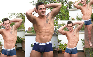BONUS VIDEO - Hunky Straight Lad Lance's video of his Photo Shoot