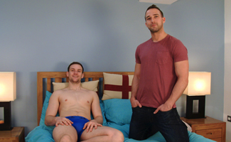 Straight Hunks Rich Wills and Joel Jenkins Wank off Each Others Massive Uncut Cocks & Shoot Loads!